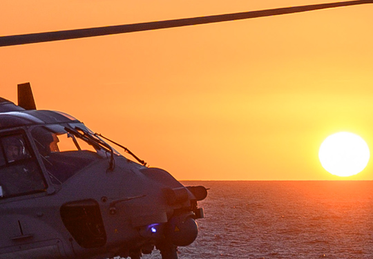 NH90 SunSet