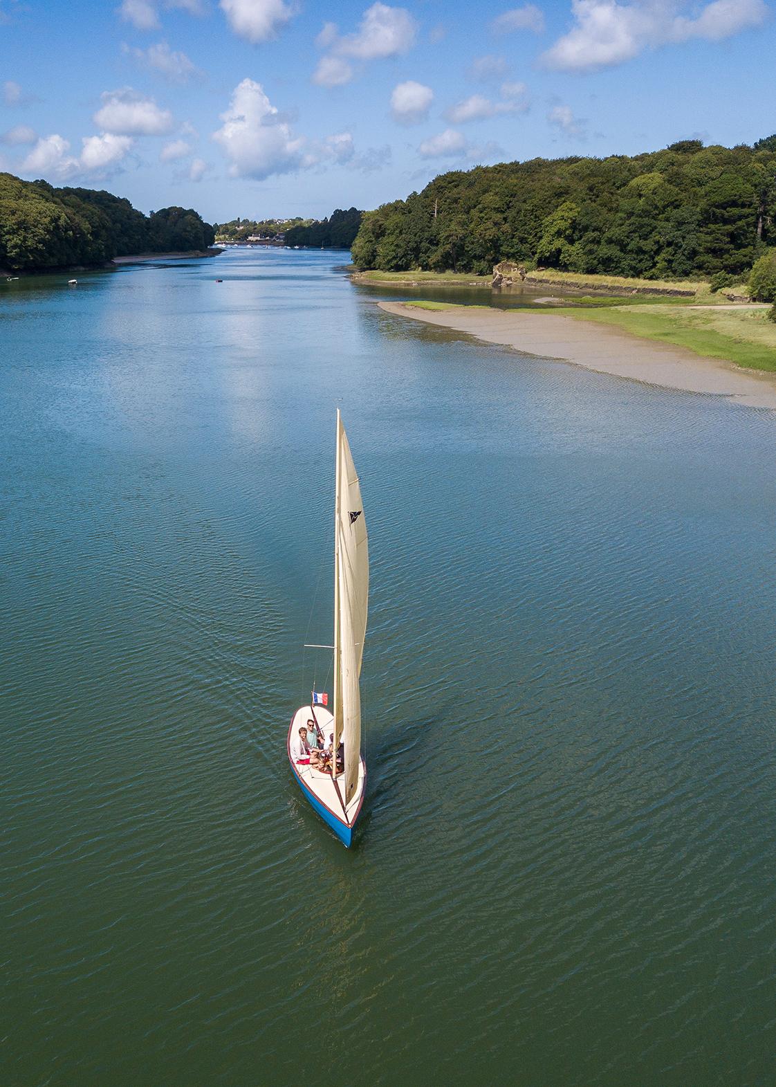 Photographie bateau en Bretagne