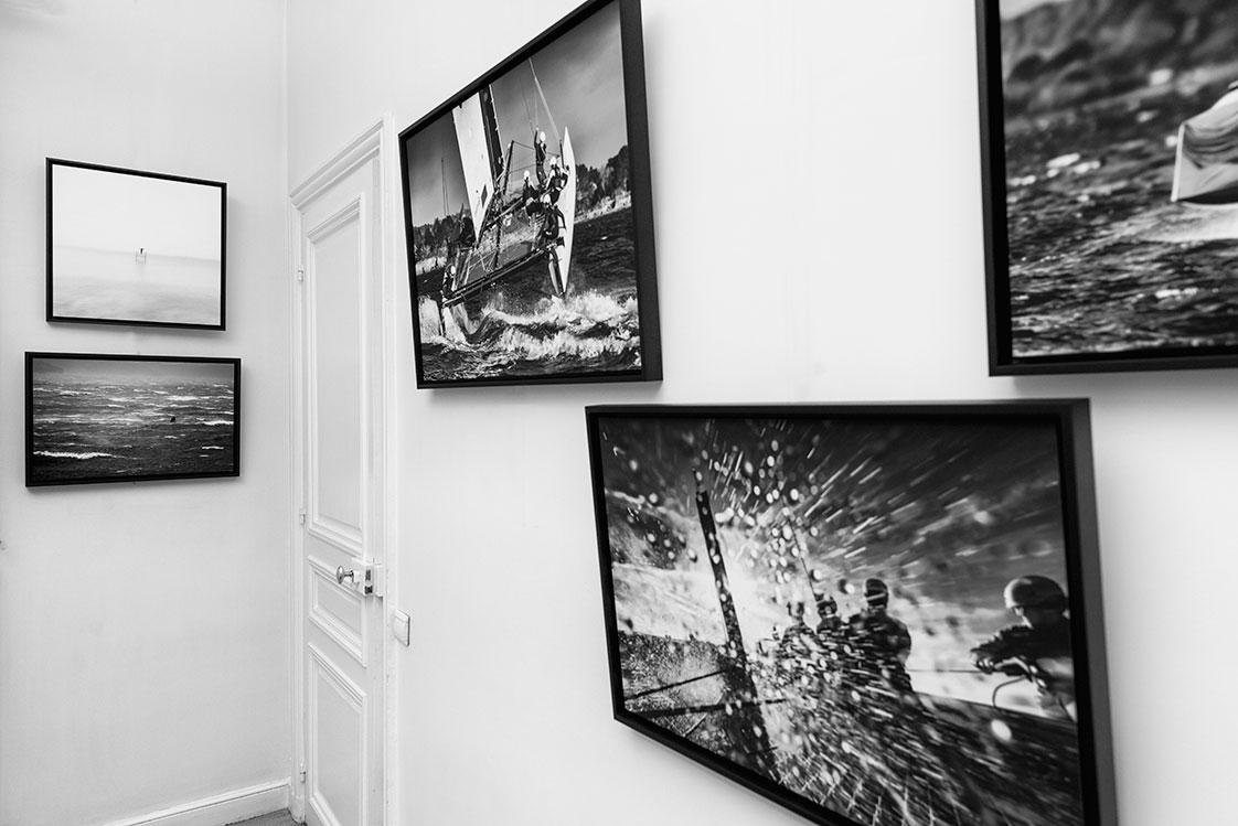 Exposition photos de bateaux à Paris