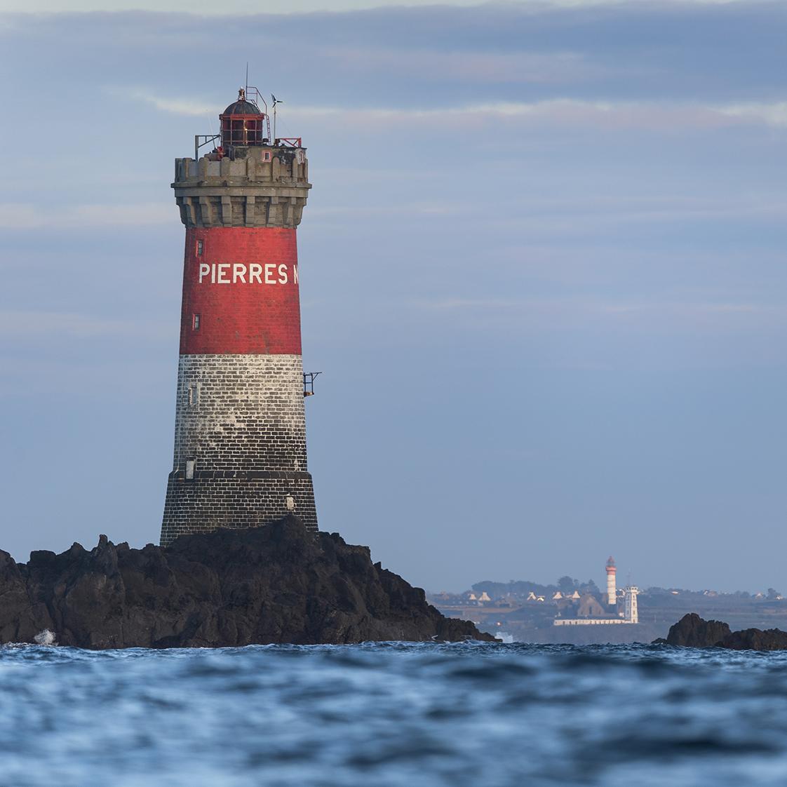 photographie en mer à Molène