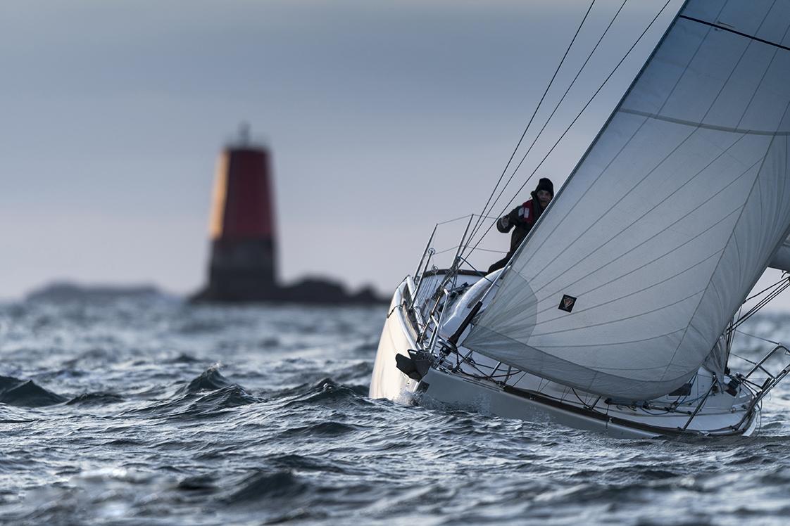Photographie en mer à Molène avec bateau