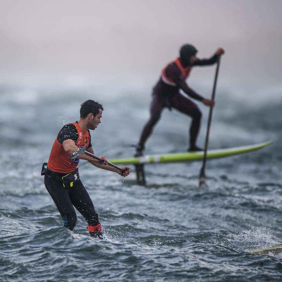 Photographie de mer paddle storm brest 2