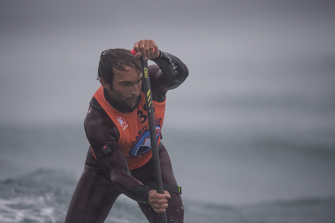 Photographie de mer rameur à Brest