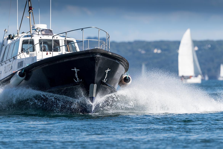 Photographie Brest - Pilote de mer en rade