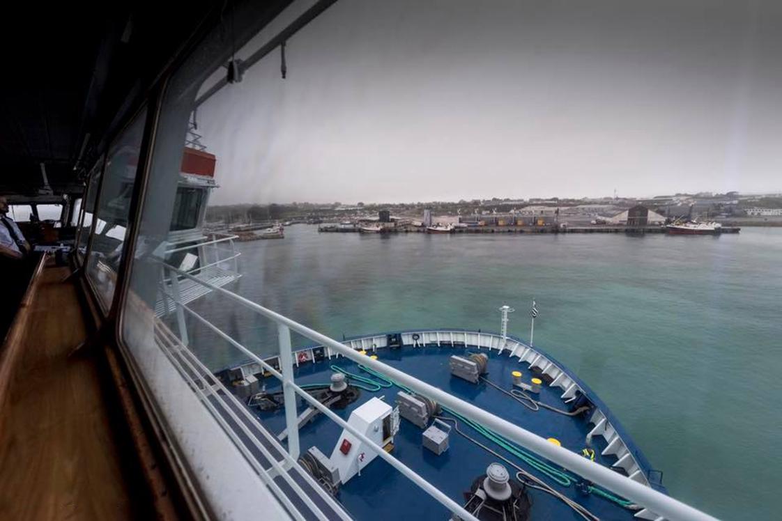 photographie bord bateau brest