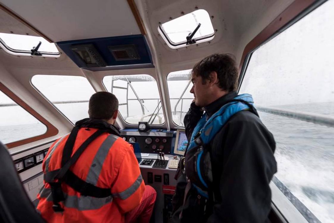 photographie à bord du bateau