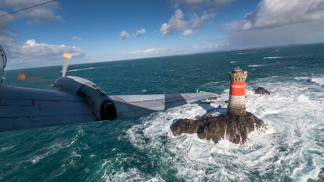 Photographie d'une phare en Bretagne