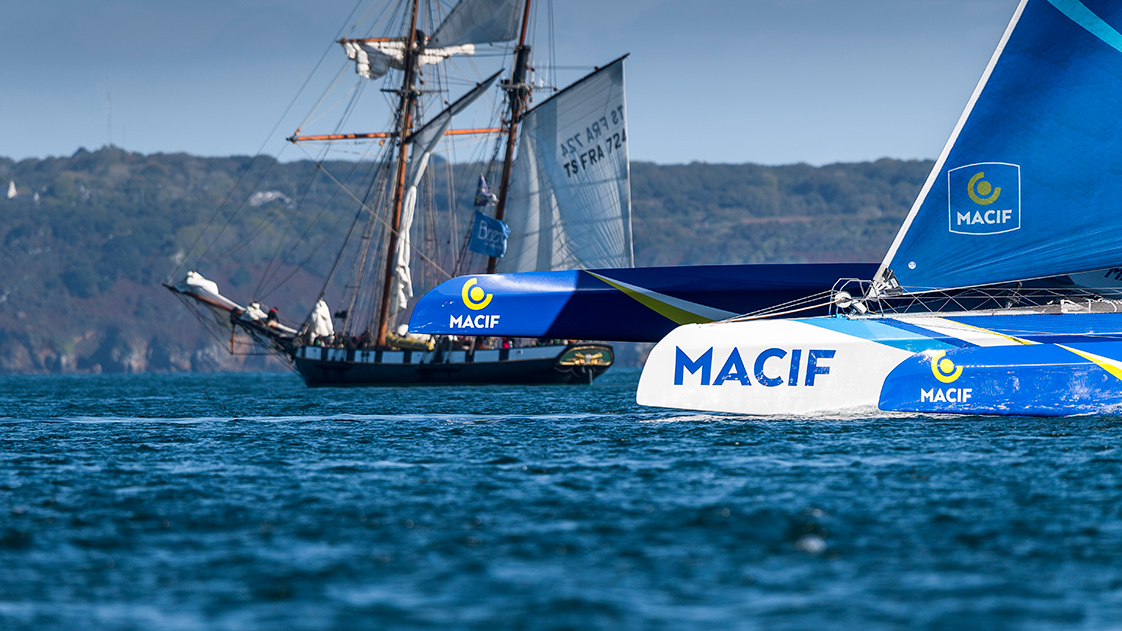 Photo du trimaran de François Gabart