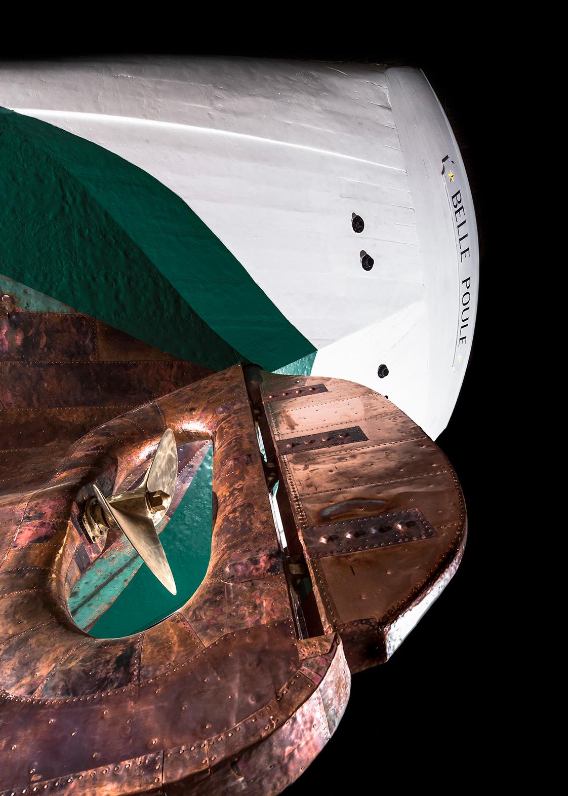 Photographie bateau La Belle Poule à Brest