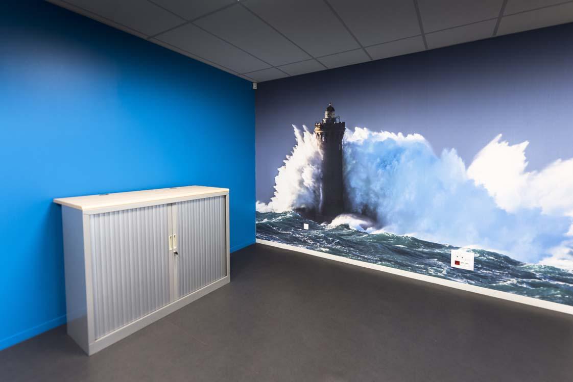 Photographie de phare au pôle mer à Brest