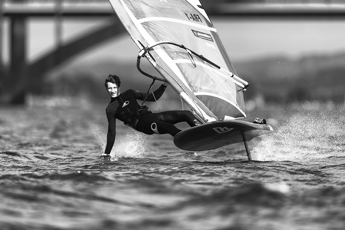 photographie kite foil rade de Brest