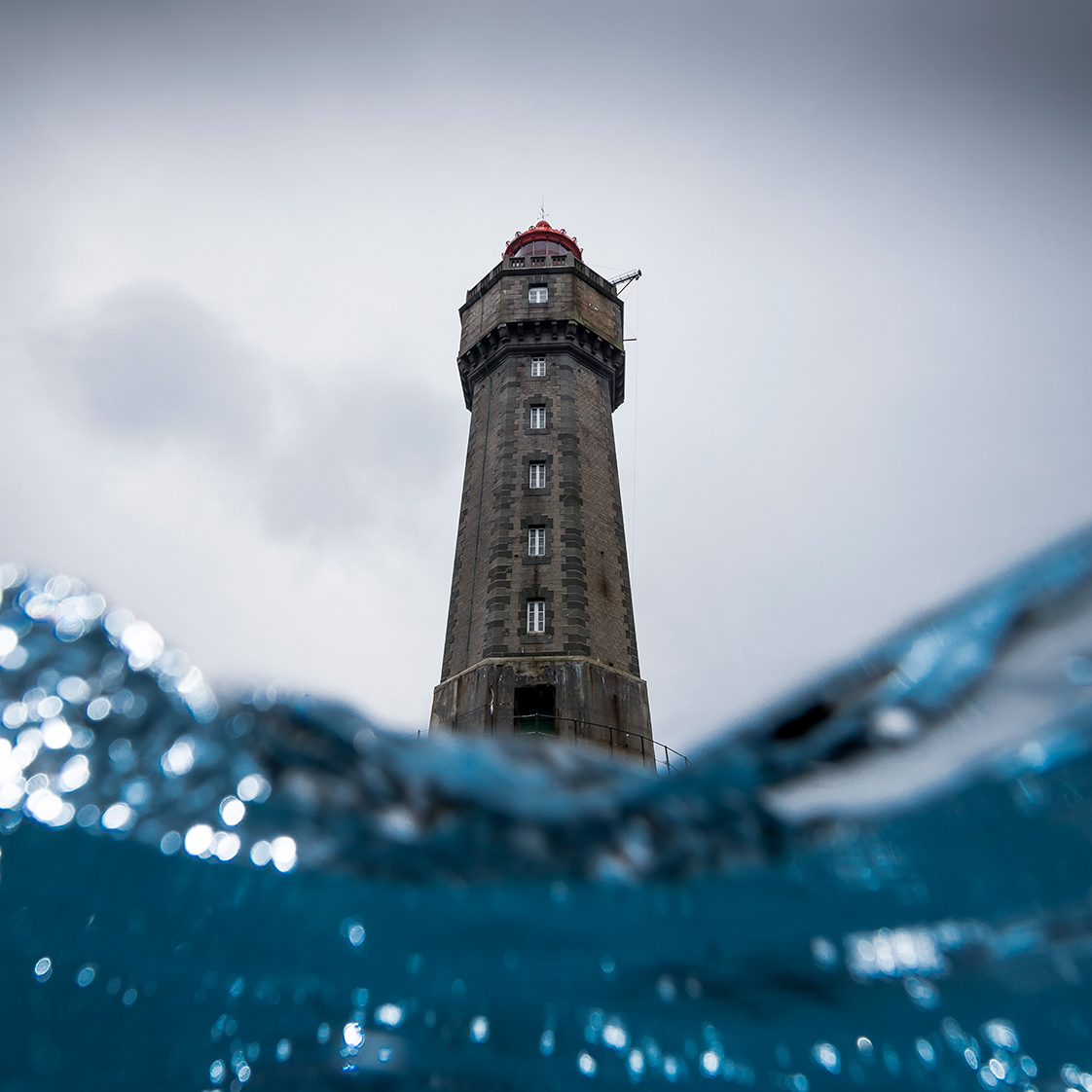 Photographie du phare de la Jument
