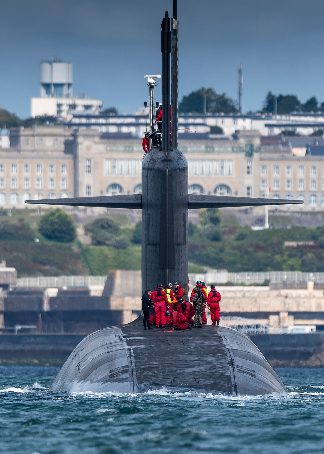 Photographie d'un sous-marin nucléaire