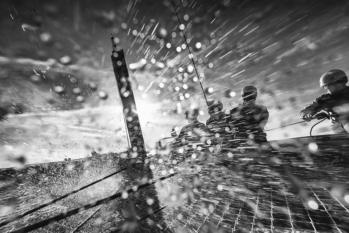 Photographie en mer voilier gc32 en Bretagne