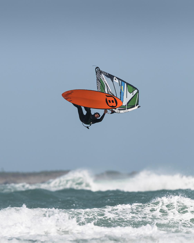 Photographie windsurf en Bretagne