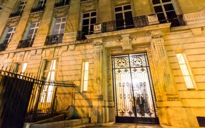 Première exposition au Yacht Club de France à Paris