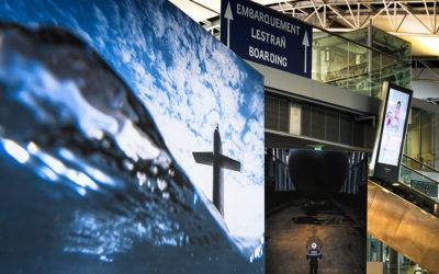 Exposition à l'aéroport de Brest Bretagne