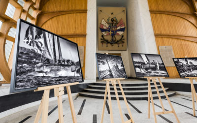 Exposition à l'Ecole Navale à Brest