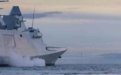 Photographie bateau de la Marine Nationale