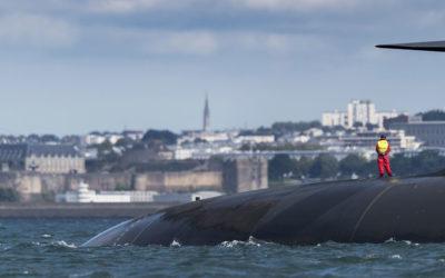 Photographies de sous-marins en Bretagne