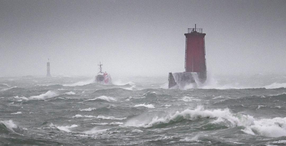 Photos de la Tempête en Bretagne