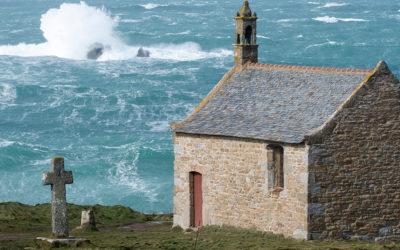 Tempête Zeus dans le Finistère nord