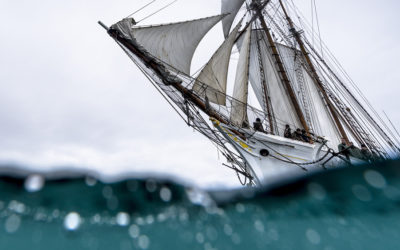 Photographies de voilier en mer