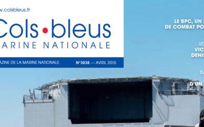 Article dans le magazine Cols Bleus !