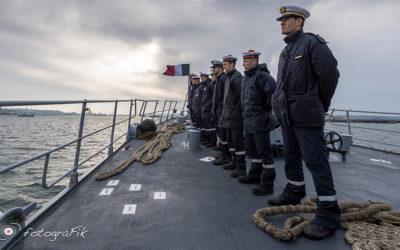 Photographies Marines sur un Aviso